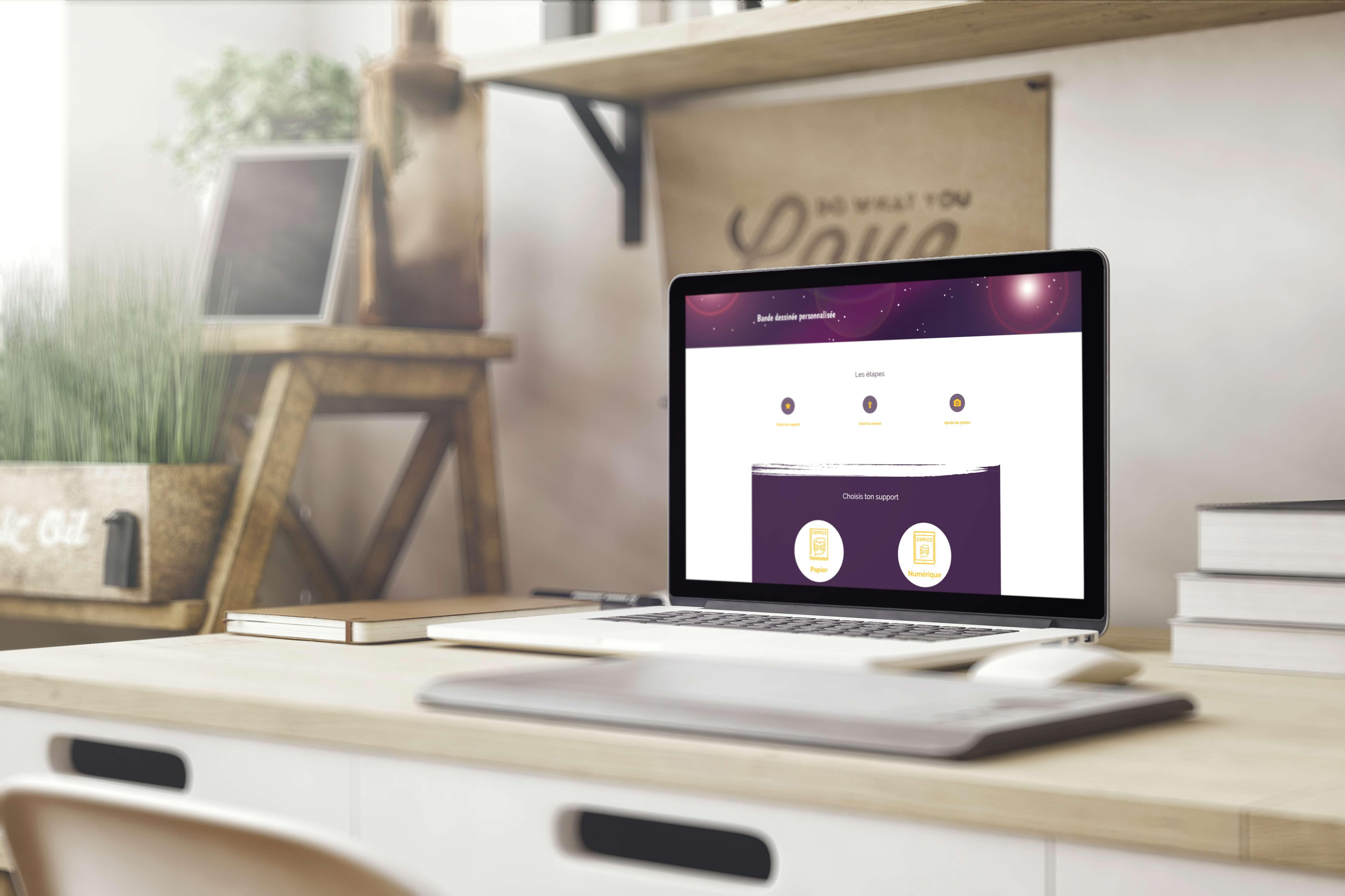 UNIKARTOON – Site web