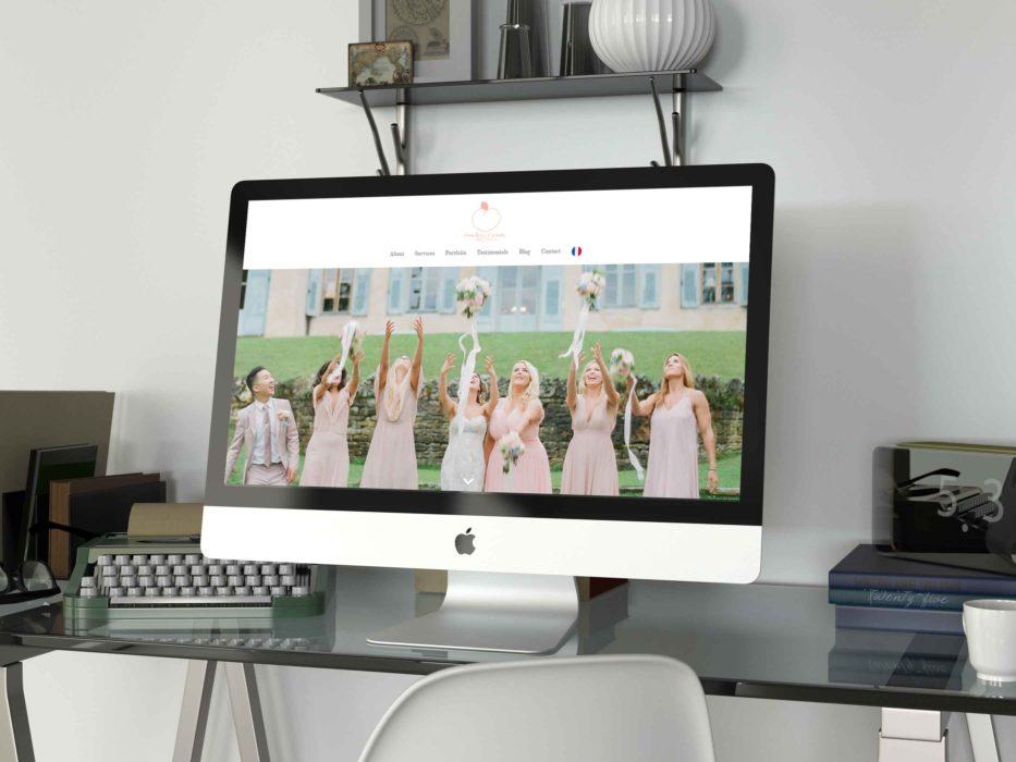 Peaches and cream – site web