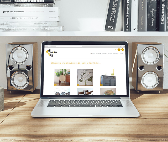 Retro Labo – site web