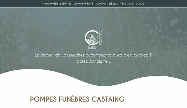 SAS Castaing – site web
