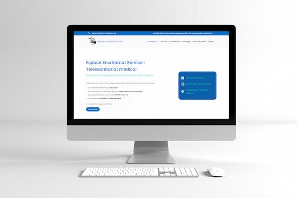 Espace Secrétariat Service – Site WEB