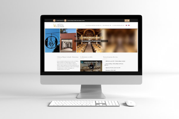 Château Mayne Lalande – site web